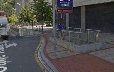 Book a parking spot in Guggenheim - Plaza Euskadi car park