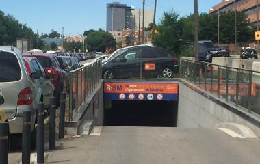 Prenota un posto nel parcheggio BSM Les Corts - Tanatori