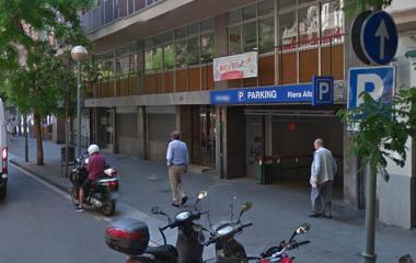 Book a parking spot in Riera Alta - El Raval car park