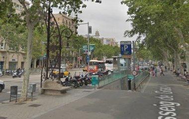 Book a parking spot in SABA BAMSA Passeig de Gràcia -Consell de Cent car park