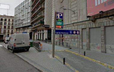 Reservar una plaza en el parking SABA Plaza Mostenses