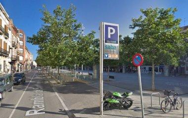 Book a parking spot in SABA Plaça del Penedès car park