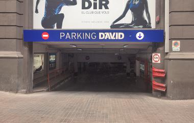 Parking David - Tuset, Aribau