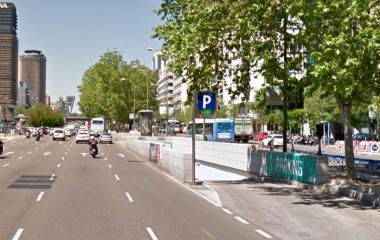 Reserve uma vaga de  estacionamento no SABA Metro Nuevos MInisterios