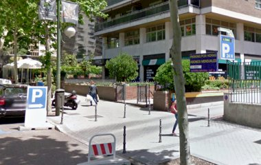 Reservar una plaza en el parking Príncipe de Vergara