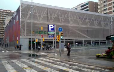 Reservar una plaza en el parking Mercat de La Florida