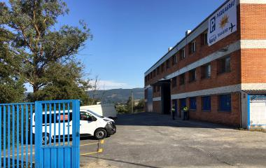 Book a parking spot in Parkaereo - Aeropuerto Bilbao car park