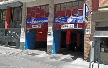 Reservar una plaza en el parking Pablo Augusto