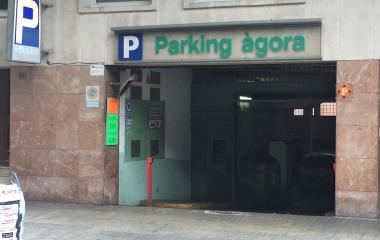 Reservar una plaza en el parking Àgora - Escola Industrial r.
