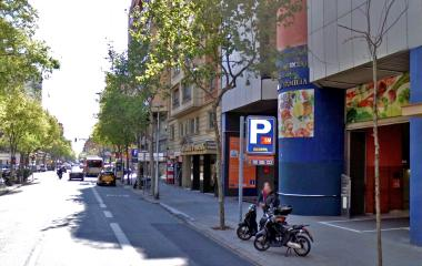 Book a parking spot in BSM Mercat Sagrada Família car park
