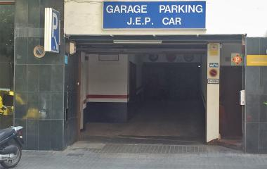 Reservar una plaza en el parking Jep-Car