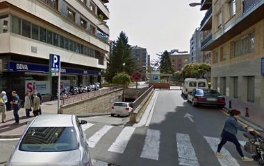 Reservar una plaza en el parking Logroño