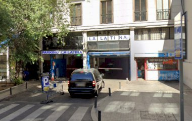 Reservar una plaza en el parking La Latina