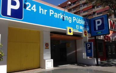 Buch einen Parkplatz im APK2 El Molino Parkplatz.