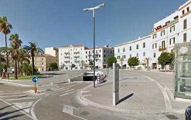Prenota un posto nel parcheggio Saba Sassari Emiciclo Garibaldi