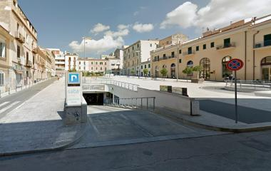 Book a parking spot in Saba Sassari Piazza Fiume car park