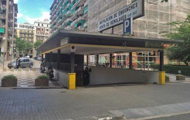 Book a parking spot in Sub-Way - Passeig de Sant Joan car park