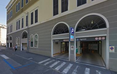 Book a parking spot in Saba Ospedale Maggiore car park