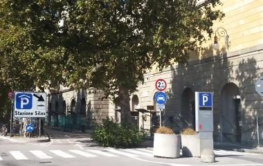Book a parking spot in Saba Trieste Silos car park