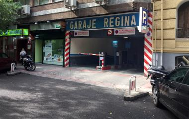 Book a parking spot in Garaje Regina - General Pardiñas car park