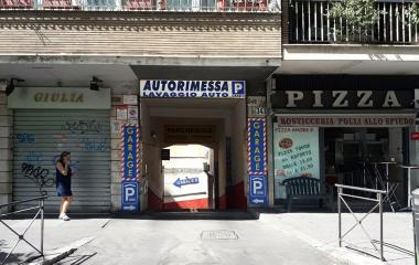 Book a parking spot in Autorimessa - Ostiense car park
