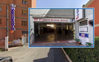 Reserveer een parkeerplek in parkeergarage Tuscolana