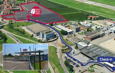 Prenota un posto nel parcheggio AeroPark Verona - Coperto