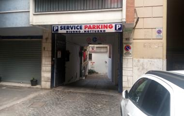 Reservar una plaza en el parking Service e Parking