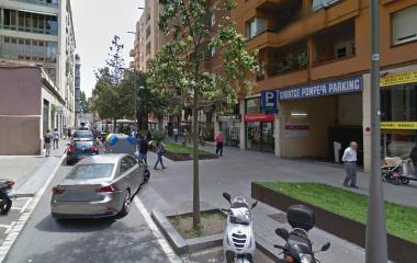 Reservar una plaza en el parking Pompeia