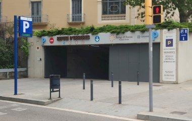 Reservar una plaza en el parking Refugi d'Obreres - Continental - Parc Güell