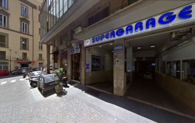 Reservar una plaza en el parking Supergarage Centro Napoli