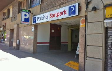 Reservar una plaza en el parking Saripark - Gracia - Escorial