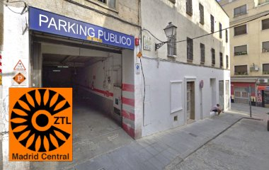 Parking Vans Lavapies Primavera