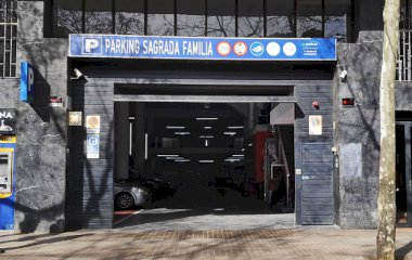 Parking Garatge Sagrada Familia