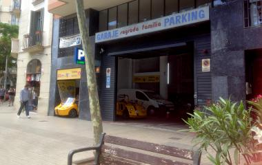 Parking Sagrada Familia