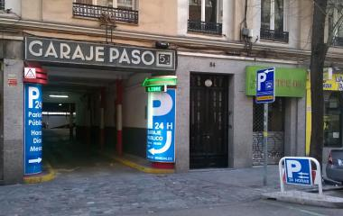 Reservar una plaza en el parking Paso - Ponzano, 54