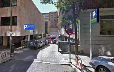 Reservar una plaza en el parking Zabra