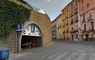 Reservar una plaza en el parking IC - Mangana