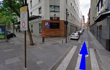 Reservar una plaza en el parking Homely - Atocha