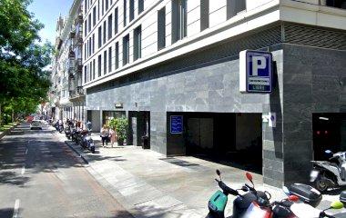 Reservar una plaza en el parking IH Centro Colón