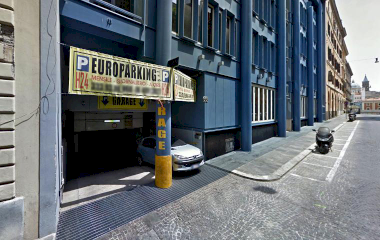 Prenota un posto nel parcheggio Euro Parking