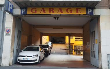 Reservar una plaza en el parking Garage Ravizza