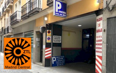 Reservar una plaza en el parking Jardines 16 - Centro Madrid - Turismos
