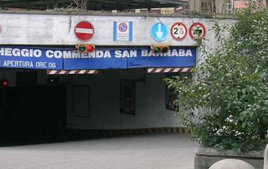 Book a parking spot in San Barnaba car park