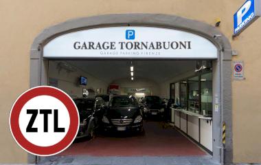 Reserveer een parkeerplek in parkeergarage Tornabuoni