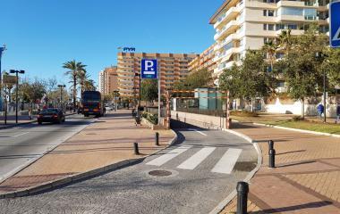 Reserve uma vaga de  estacionamento no Fuengirola - Paseo Marítimo