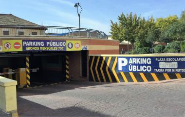 Book a parking spot in Parking Escolapios Getafe car park