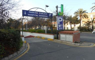 Reservar una plaza en el parking Hospital General - Tres Cruces