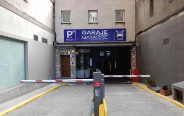 Parking Gayarre Santiago Bernabeu Nuevos ministerios