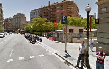 Parking Mercat de Sant Gervasi - Plaça Joaquim Folguera